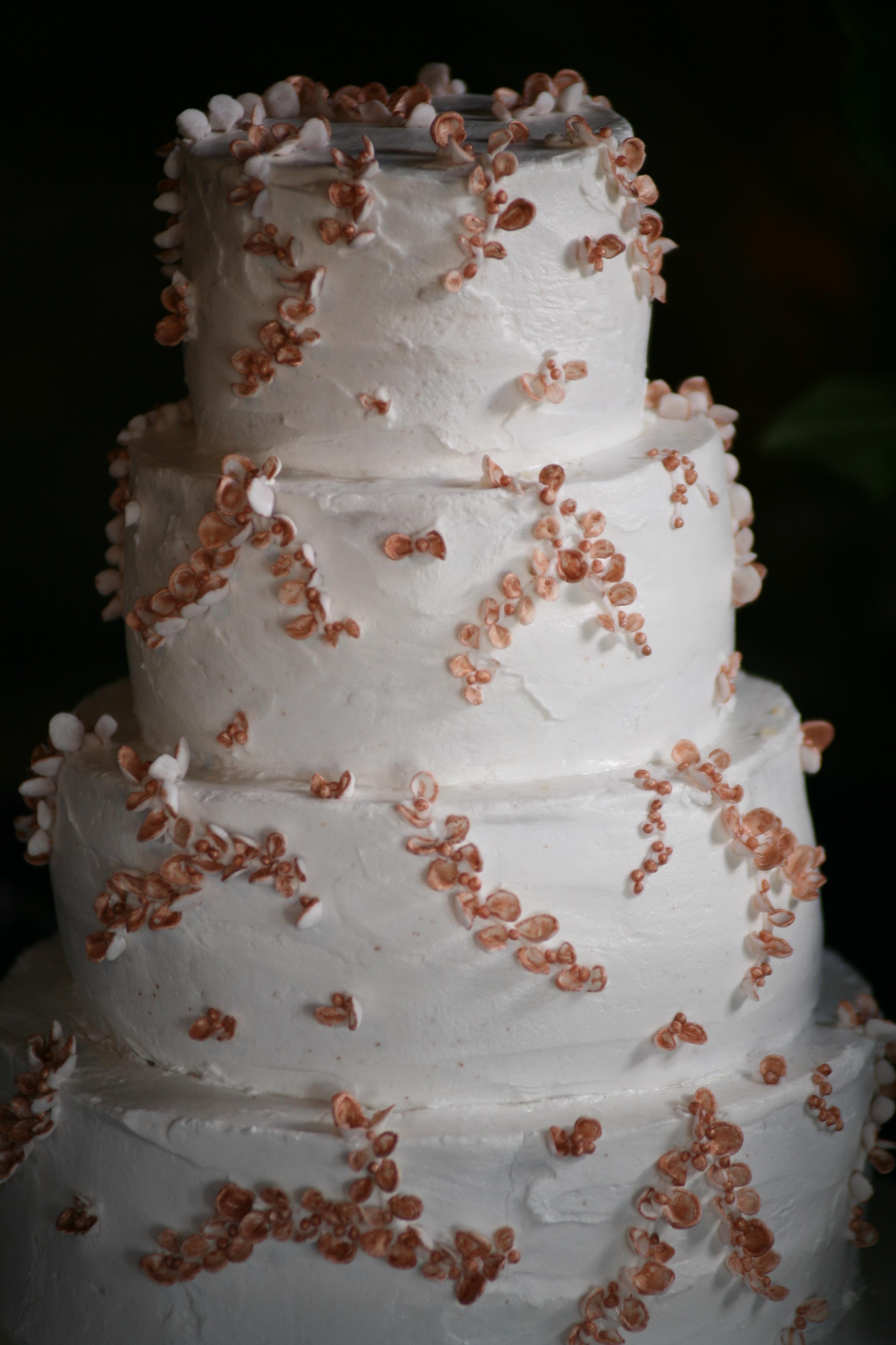 Strawberry Wedding Cake Omaha